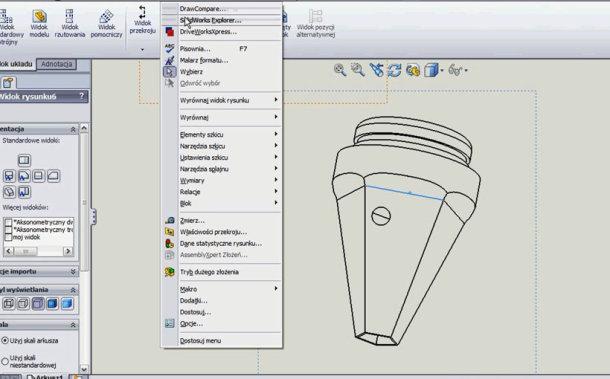 Zaprojektowano w SolidWorks: Papierkowa robota