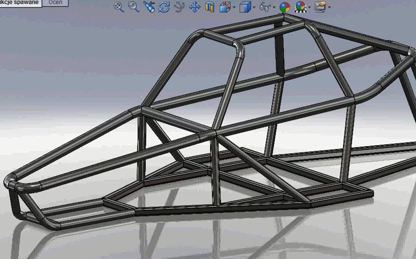 Zaprojektowano w SolidWorks: Wrrrum!