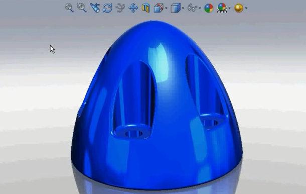 Zaprojektowano w SolidWorks: Odciski palców