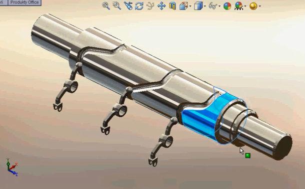 Zaprojektowano w SolidWorks: ..a świstak siedzi i zawija