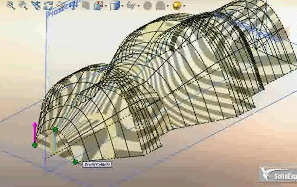 Zaprojektowano w SolidWorks: Artysta szkicownik