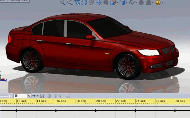 Zaprojektowano w SolidWorks: BMW serii 3