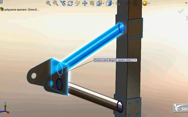 Zaprojektowano w SolidWorks: Nagły atak spawacza
