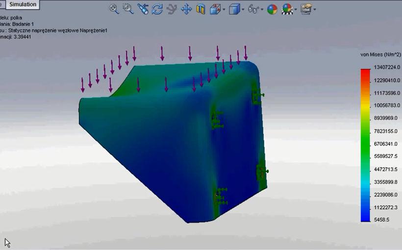 Zaprojektowano w SolidWorks: Uwaga, ściana!