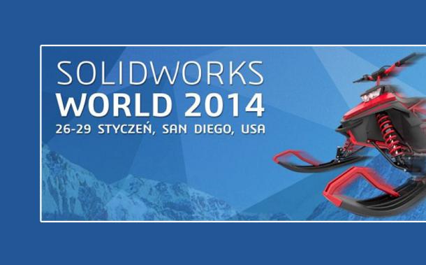 Relacja z SolidWorks World 2014 w SanDiego.
