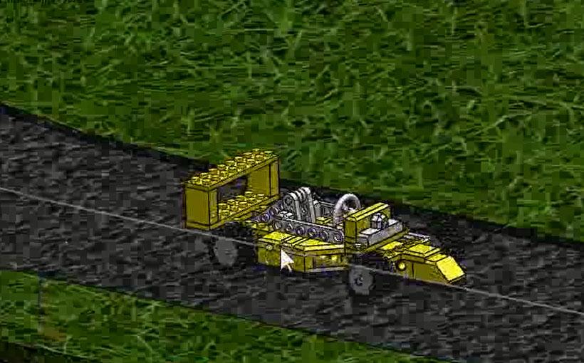 Zaprojektowano w SolidWorks: Drift