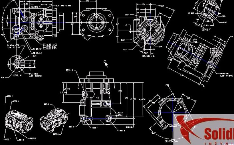 Zaprojektowano w SolidWorks: Toniesz w papierach? DraftSight!
