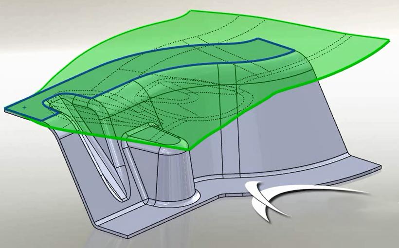 Zaprojektowano w SolidWorks: tłoczno tu!