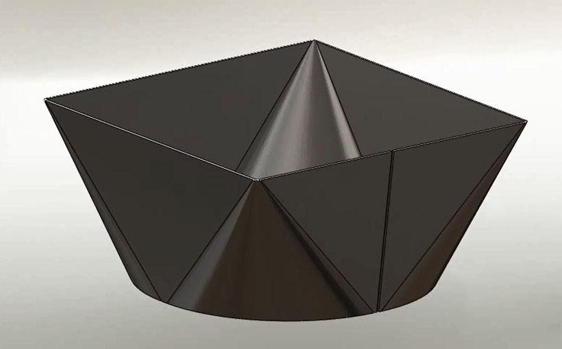 Zaprojektowano w SolidWorks: To jest prze-gięcie