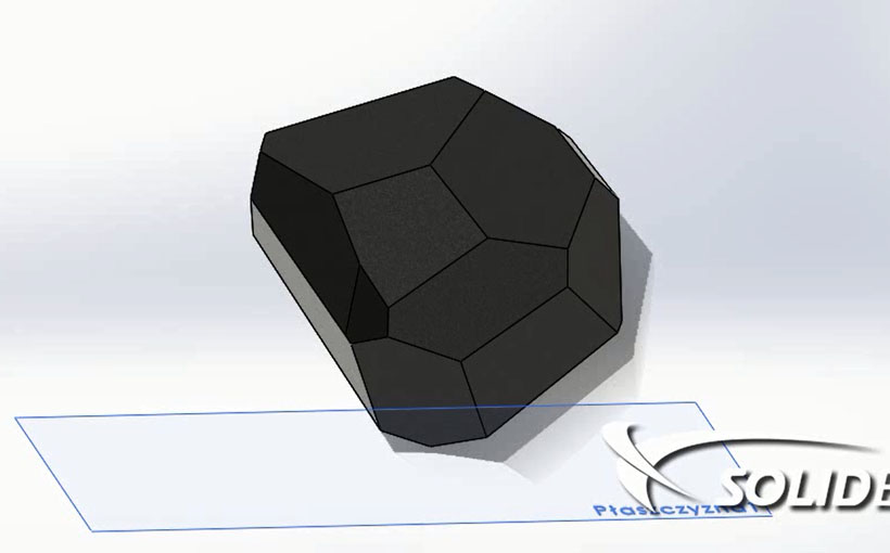 Test upadku w SolidWorks Simulation Professional