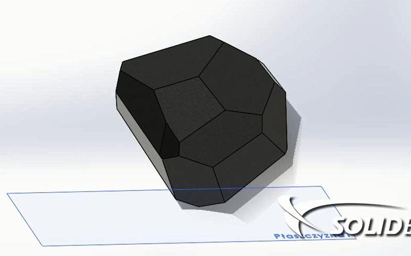 Test upadku w SolidWorks Simulation Professional