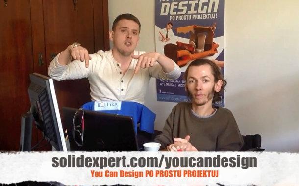 Zaprojektowano w SolidWorks: You Can Design