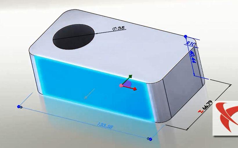 Zaprojektowano w SolidWorks: 2+2