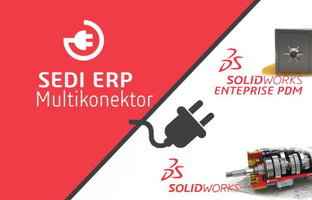 SEDI ERP Multikonektor – połączenie SOLIDWORKS oraz EPDM z ERP