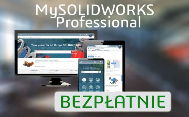 Darmowy dostęp do MySOLIDWORKS Professional dla posiadaczy subskrypcji SOLIDWORKS
