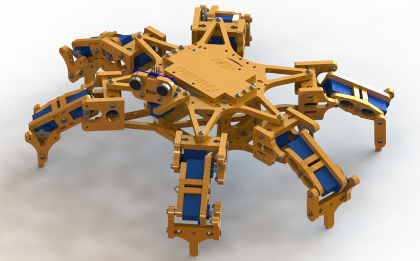 Budowa koncepcji złożenia z SOLIDWORKS Treehouse