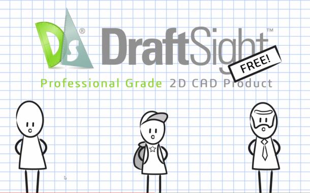 DraftSight – darmowy CAD 2D do użytku komercyjnego