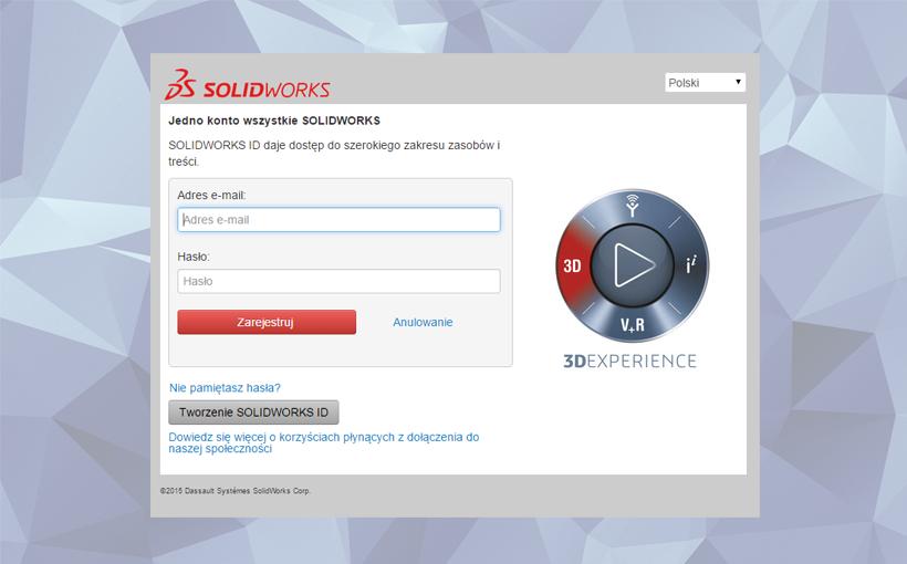 Jak założyć i korzystać z SOLIDWORKS ID (SOLIDWORKS Customer Portal)?