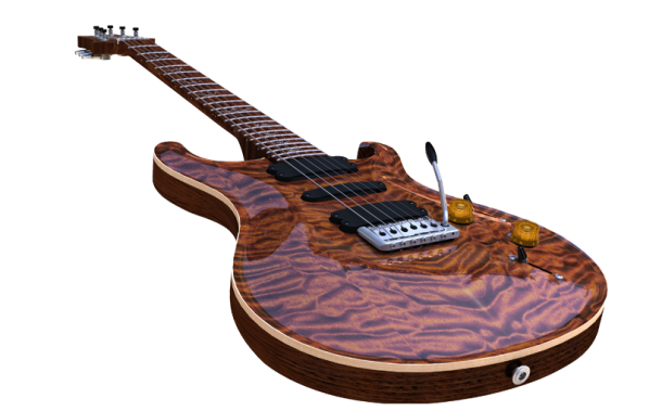 Strojenie gitary w SOLIDWORKS Simulation