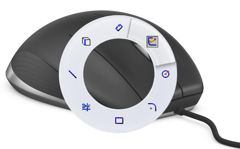 Gesty Myszy – projektuj jeszcze szybciej w SOLIDWORKS