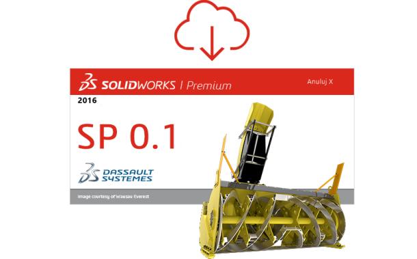 SOLIDWORKS 2016 SP 0.1 gotowy do pobrania!