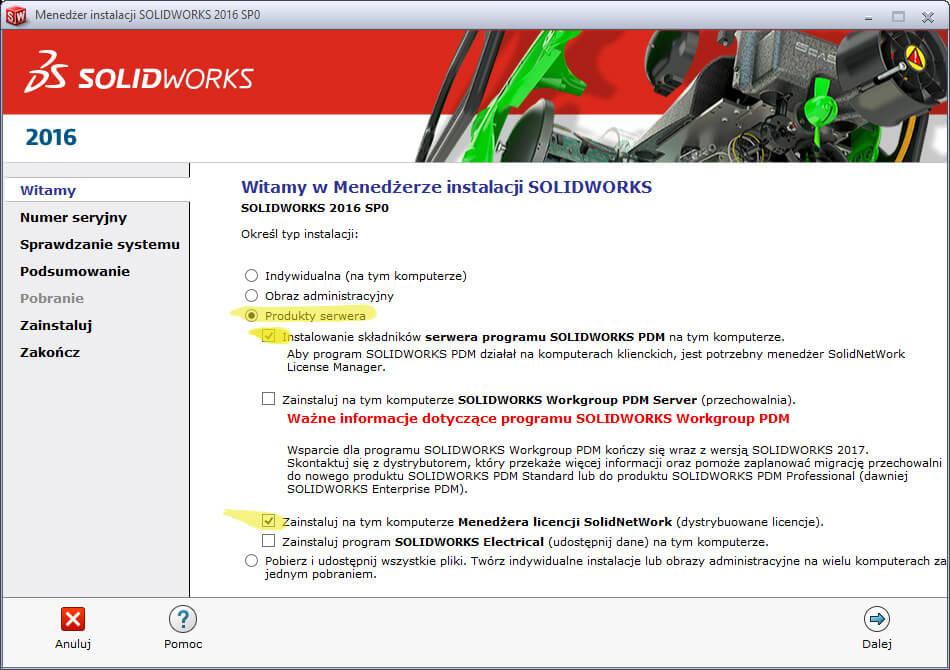 instalacja-solidworks-pdm-standard