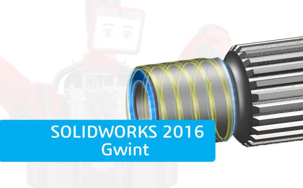 Nowości SOLIDWORKS 2016 – Gwint