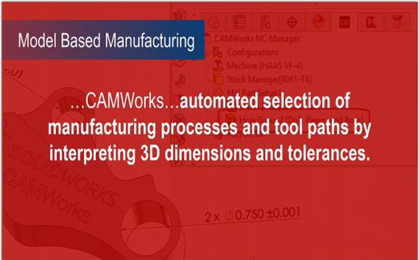 CAMWorks głównym dodatkiem wspomagającym proces wytwarzania w SOLIDWORKS