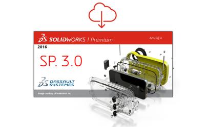 SOLIDWORKS 2016 SP 3.0 gotowy do pobrania!