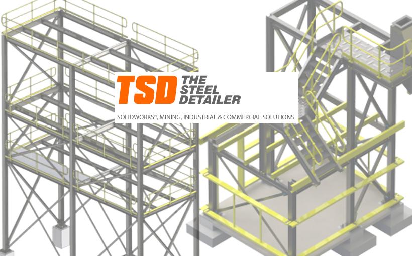 The Steel Detailer – dodatek SOLIDWORKS dla konstrukcji stalowych
