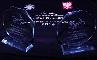 Kolejny sukces polskich studentów na SmartMotoChallange w Barcelonie!