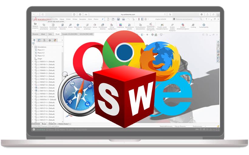 SOLIDWORKS Online Testing – testuj SOLIDWORKS w przeglądarce internetowej