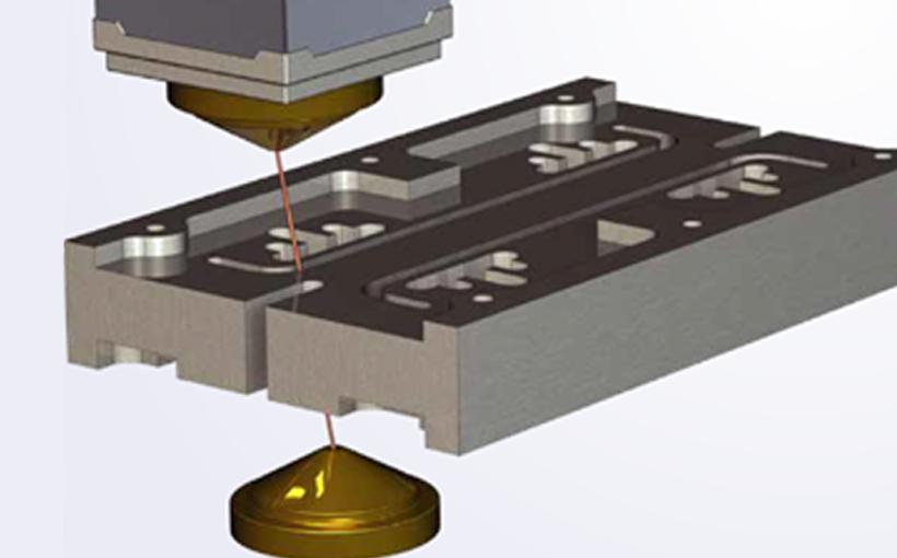 CAMWorks: Obróbka bezodpadowa Wire EDM