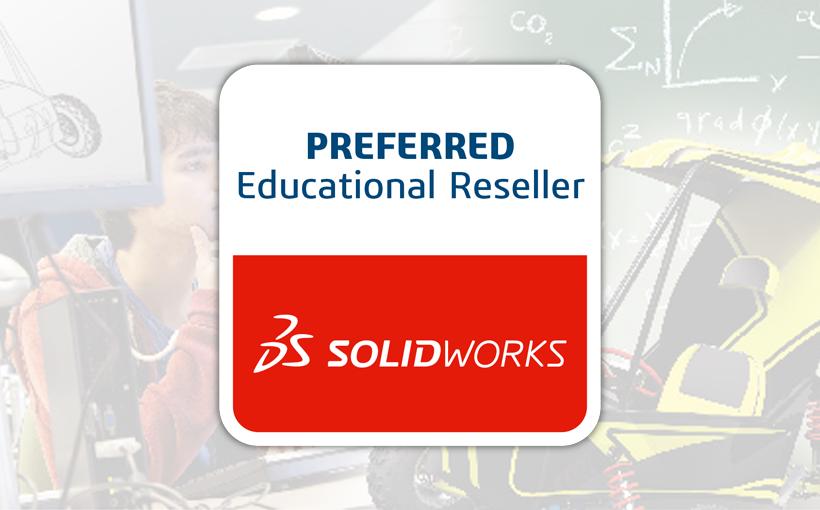 SOLIDWORKS Preferred Educational Reseller dla SOLIDEXPERT!