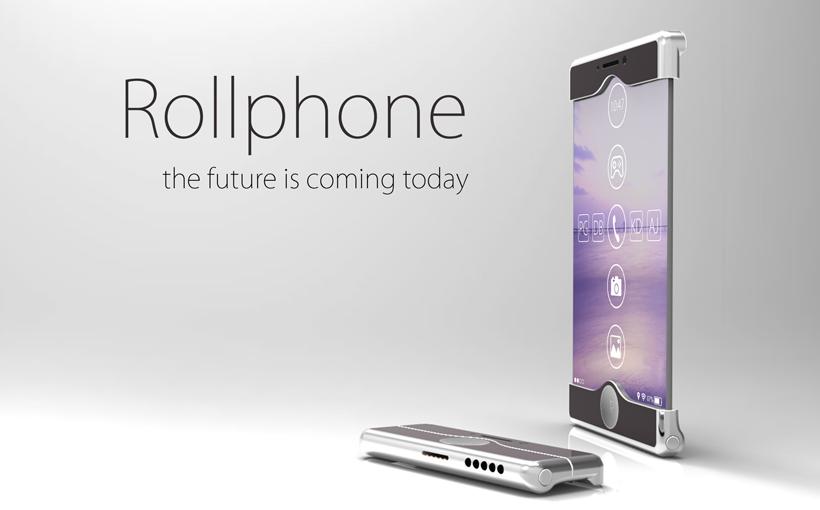 Rollphone – telefon przyszłości zaprojektowany w SOLIDWORKS