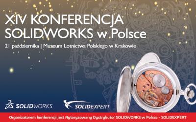XIV Konferencja SOLIDWORKS w Polsce – zapisz się!