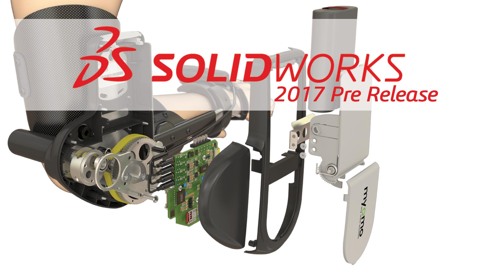 SOLIDWORKS 2017 Pre Release dostępny do pobrania