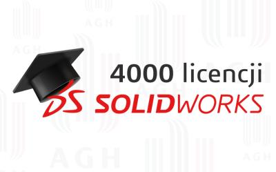 4000 użytkowników SOLIDWORKS na AGH!