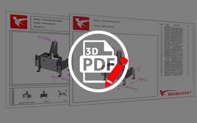 SOLIDWORKS MBD – Edytor szablonów PDF 3D