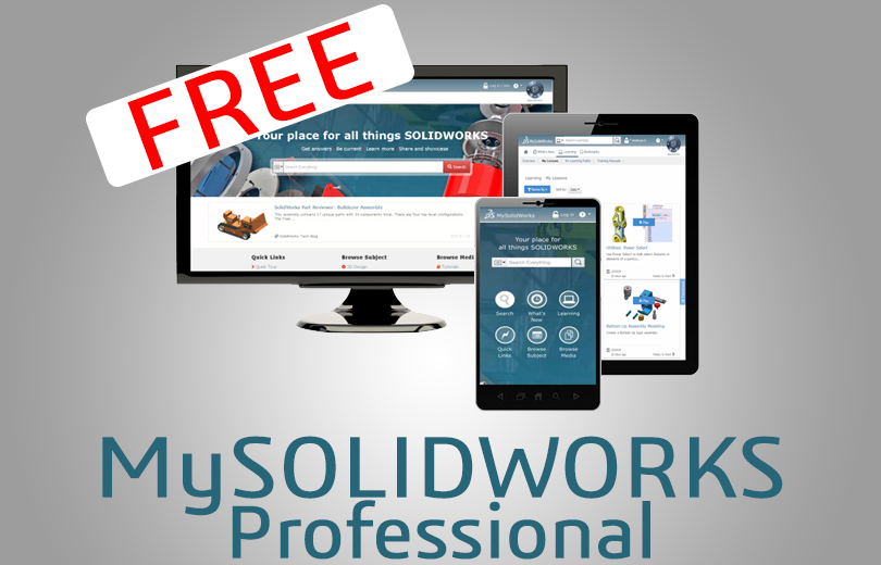 Kup SOLIDWORKS i otrzymaj darmowy dostęp do platformy MySOLIDWORKS Professional na rok!