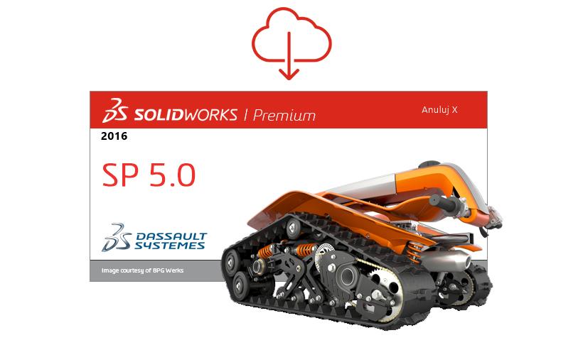 SOLIDWORKS 2016 SP 5.0 dostępny do pobrania!