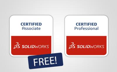 Darmowe egzaminy CSWA i CSWP dla posiadaczy subskrypcji SOLIDWORKS