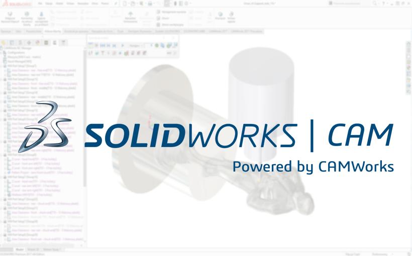 SOLIDWORKS CAM – Pierwszy system klasy CAM od Dassault Systèmes dla SOLIDWORKS!