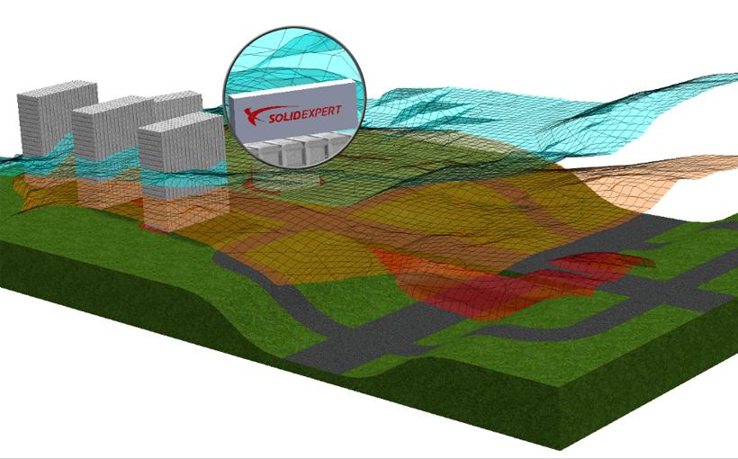 SOLIDWORKS Flow Simulation a poziom koncentracji smogu