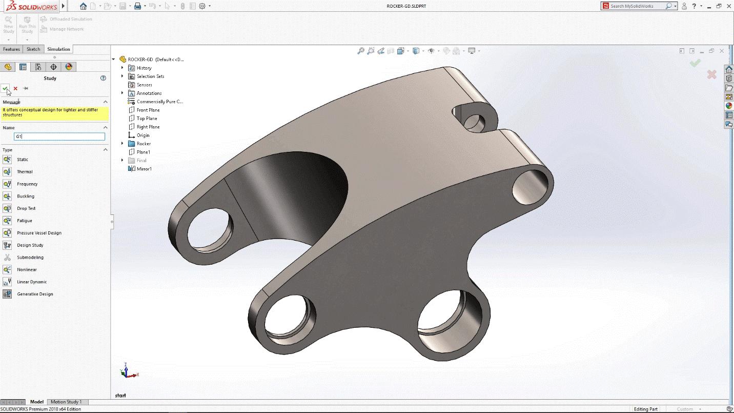 generowanie kształtu
