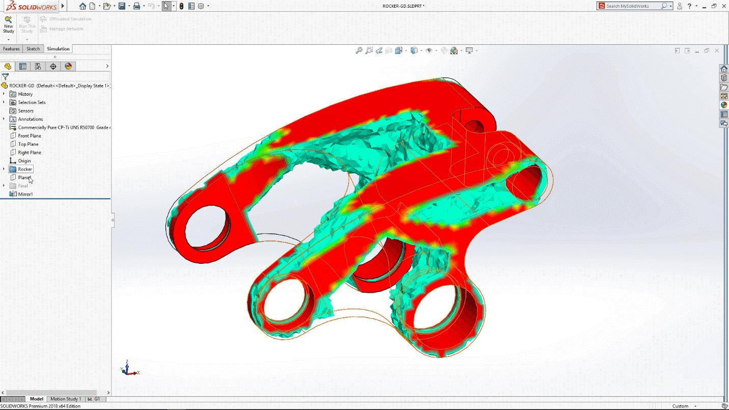 optymalny kształt