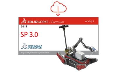 SOLIDWORKS 2017 SP 3.0 dostępny do pobrania!