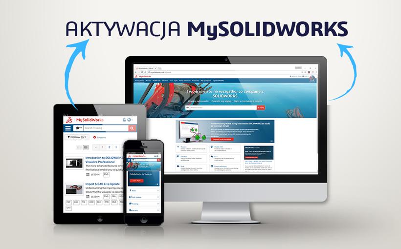 Aktywacja dostępu do platformy MySOLIDWORKS