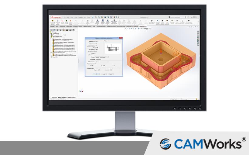 Interfejs CAMWorks – pierwsze kroki