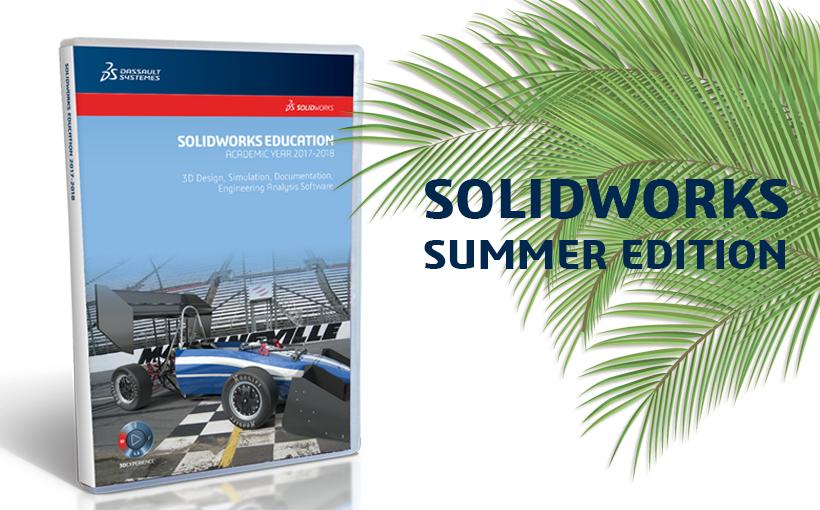 SOLIDWORKS Summer Edition – darmowa licencja edukacyjna na okres wakacji!